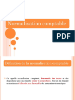 Introduction normalisation  comptable