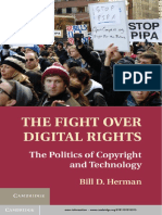 The Fight Over Digital Rights - Herman, Bill D