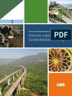 Banco Interamericano de Desarrollo Informe Sobre Sostenibilidad de 2013