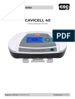 Manual Cavicell 40 ultrassom cavitacional