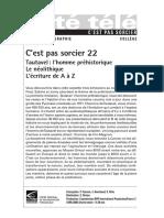 CPS 22 - tautavel, néolithique, l'écriture