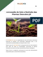 Fertilidade Do Solo e Nutrição Das Plantas_ Descubra Já! _ AgroPós