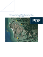 ERDs Off-Island Water Testing Sites for City of Marco Island FY 20 - FY 21