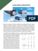 Aparatos para mando y señalización - UTN FRLP