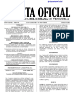 Gaceta Oficial N° 42.101 del 7 de abril de 2021