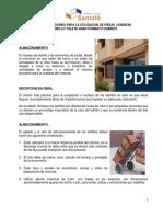 LSF - RECOMENDACIONES PARA LA UTILIZACION DE LADRILLO TOLETE GRAN FORMATO COBRIZO