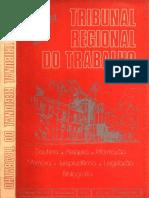 Revista Do Tribunal Regional Do Trabalho 1ª Região Nº 11