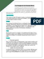 Análisis de La Vorágine de José Eustasio Rivera