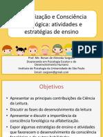 Alfabetização e Consciência Fonológica atividades e estratégias de ensino RENAN SARGIANI.