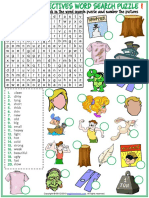 opposite adjectives vocabulary esl word search puzzle worksheets for kids