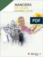 Etats Financiers sociaux et consolidés Lesieur Cristal au 31-12-2016