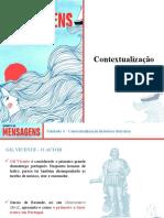 Mensagens_Contextualização histórico-literária - Unidade 3