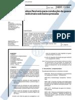 Nbr 13164 - Tubos Flexiveis Para Conducao de Gases Medicinais Sob Baixa Pressao(1)
