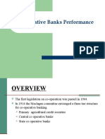 Cooperative Banks Performance