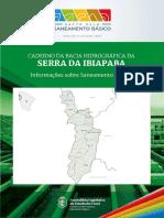 CADERNO DA BACIA HIDROGRÁFICA DA SERRA DA IBIAPABA - Informações sobre Saneamento Básico