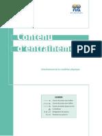 Chapitre 08 Formation et préparation physique - contenu - Copie