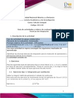 Guía de actividades y rúbrica de evaluación - Fase 3 - Técnicas de Integración