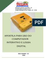APOSTILA Lousa Digital