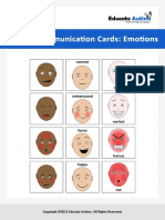 Picture Cards Basic Faces - Educate Autism