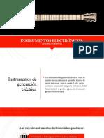 Instrumentos Electrófonos