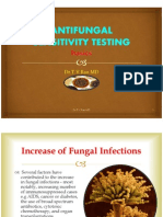 Antifungal Sensitivity Testing Methods