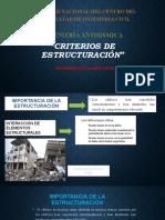 GUTIERREZ HUACHOS LUYE - CRITERIOS DE ESTRUCTURACIÓN