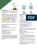 EVALUACION de PRESION, PRINCIPIOS de PASCAL y ARQUIMEDES 2021
