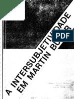 Intersubjetividade Em Martin Buber_SIDEKUM