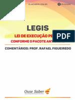 2020 Apostila Legis Lei de Execução Penal Pacote Anticrime Prof