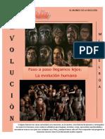 revista ... evolución del ser humano