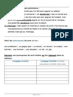 LES PROFESSIONS (1)