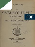 Le symbolisme des nombres - R. Allendy
