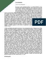 Carta de Paulo Aos Colossenses - Introdução - 270121