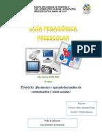 GUIA PEDAGOGICA SOBRE MEDIOS DE COMUNICACION ( MATERNAL)