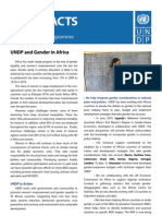 UNDP and Gender in Africa (UNDP/2011)