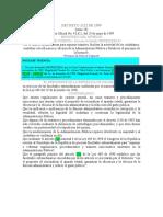 Decreto 1122 de 1999