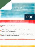 Culture Awareness