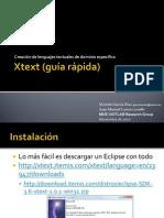 Xtext (guía rápida)