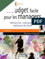 Le budget facile pour les managers  démarche, indicateurs, tableaux de bord