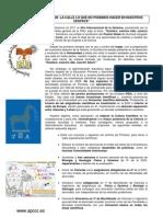 manifiesto QUIMICA 2011