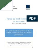 Journal de Bord - NOBRE