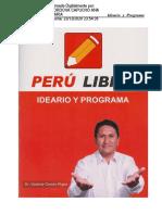 Plan de gobierno Perú Libre