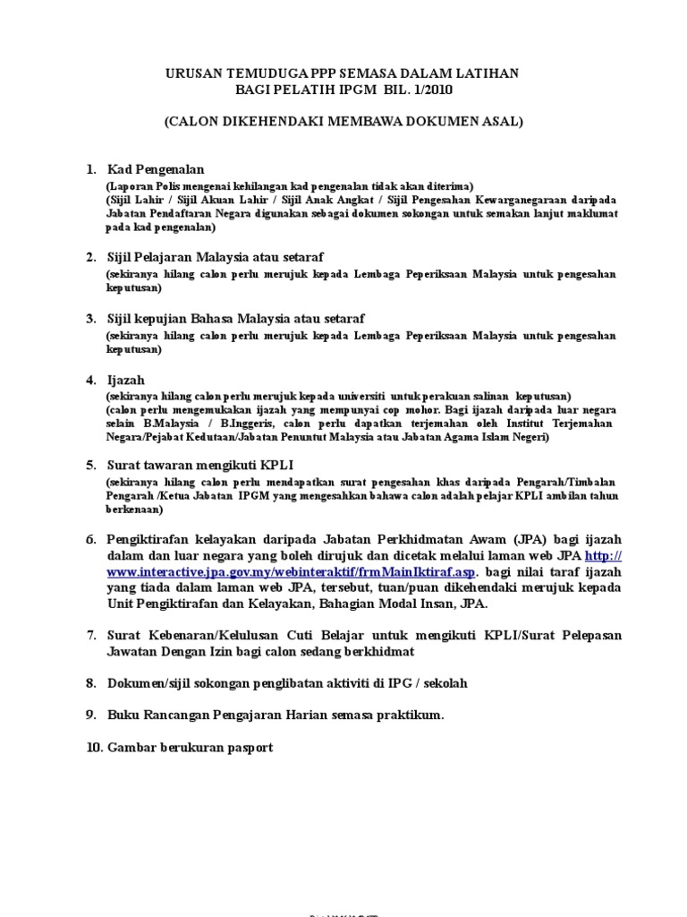 Www Interactive Jpa Gov My Webinteraktif Frmmainiktiraf Asp Printed 20 05 10 Spp