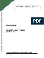 [CO 0070 2006] Margarina