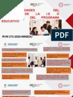 PPT RESPONSABILIDADES DEL DIRECTIVO - RVM 273-2020-MINEDU (