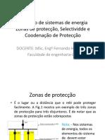 Aula_Zonas de Protecção_Proteção de Sistemas de Energia_FEUEM