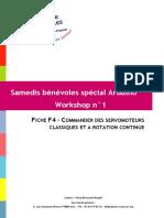 Fiche F4 Commander Des Servomoteurs Classiques Et a Rotation Continue
