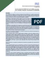 Proyecto Argentino Interinstitucional de Genómica anuncia las variantes del coronavirus en el país