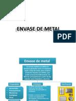 ENVASE DE METAL mapa conceptual