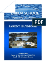 School Brochure 1.Parent Handbook2